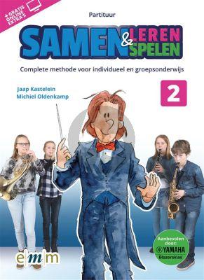 Kastelein-Oldenkamp Samen Leren & Samenspelen 2 Partituur (Boek met Audio online)
