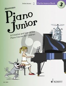 Heumann Piano Junior: Performance Book 3 (A Creative and Interactive Piano Course for Children) (Book with Audio online)