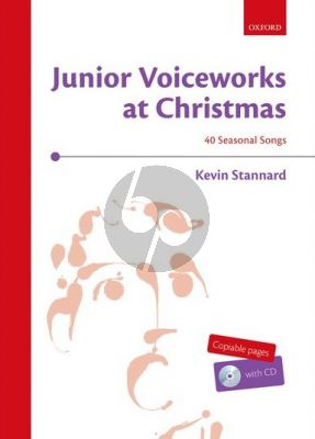 Stannard Junior Voiceworks at Christmas Children's choir (up to four parts) (Bk-Cd)