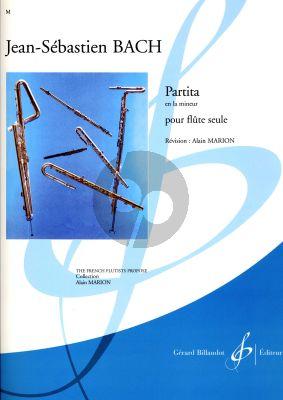 Bach Partita la mineur Alain Marion
