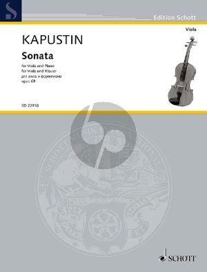 Kapustin Sonata Op.69 Viola-Piano (1992)