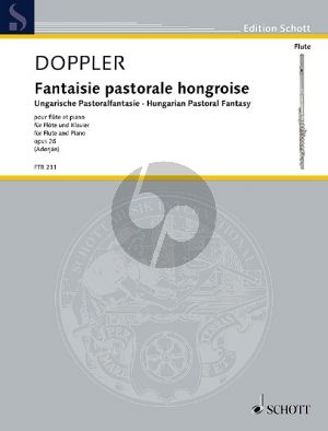 Doppler Fantaisie Pastorale Hongroise Op.26 Flute-Piano (edited by András Adorján)