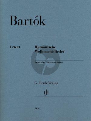 Rumänische Weihnachtslieder Klavier (László Somfai) (Henle-Urtext)