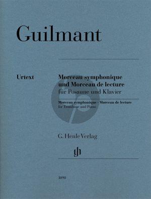 Guilmant Morceau symphonique op. 88 und Morceau de lecture Trombone-Piano (Dominik Rahmer)