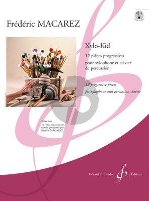 Macarez Xylo-Kid 12 Pièces Progressives Xylophone et Percussion Clavier