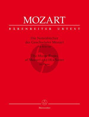 Mozart Die Notenbücher der Geschwister Mozart für Klavier (Wolfgang Plath) (Barenreiter-Urtext)