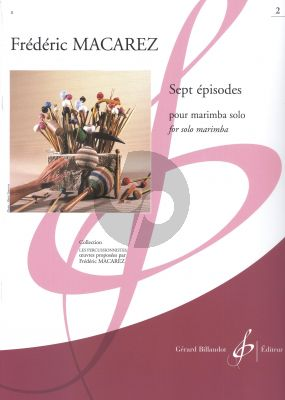 Macarez 7 Episodes Vol.2 Marimba solo (difficult level)