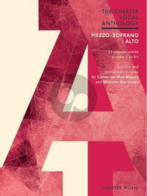 The Chester Vocal Anthology Mezzo-Soprano/Alto Voice with Piano Accompaniment