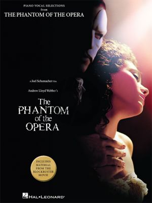 Lloyd Webber The Phantom of the Opera – Movie Selections Piano-Vocal-Guitar