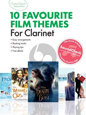Guest Spot Interactive: 10 Favourite Film Themes for Clarinet (Book with Audio online)