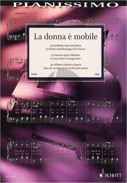 La donna è mobile (50 Famous Opera Melodies) Easy Piano (transcr. by H.G. Heumann)