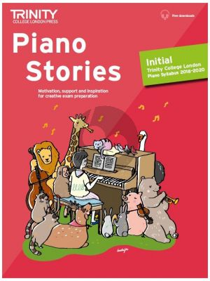 Piano Stories 2018-2020 Initial Grade (Book with Audio online)