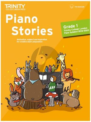 Piano Stories 2018-2020 Grade 1 (Book with Audio online)