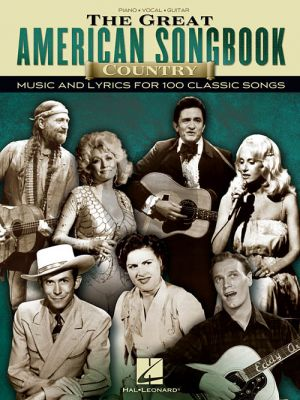 The Great American Songbook – Country Piano-Vocal-Guitar