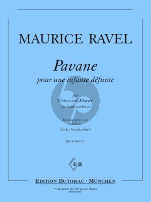 Ravel Pavane pour une infante défunte Violine-Klavier (Heiko Stralendorff)