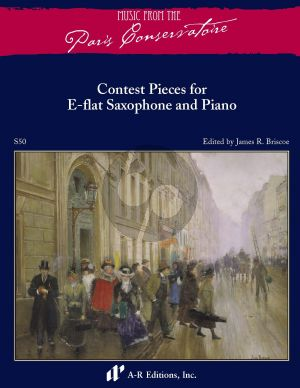 Contest Solos from the Paris Conservatoire for Alto Saxophone and Piano (edited by James R. Briscoe)