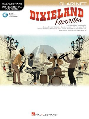 Dixieland Favorites Instrumental Play-Along Clarinet (Book with Audio online)