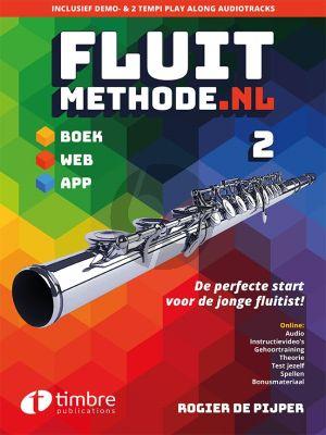 Pijper Fluitmethode.nl Vol.2 (Boek met Audio online)