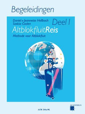 Hellbach-Coolen Altblokfluitreis Vol.1 Methode voor Altblokfluit Begeleidingen