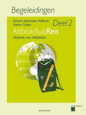 Hellbach-Coolen Altblokfluitreis Vol.2 Methode voor Altblokfluit Begeleidingen