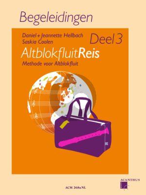 Hellbach-Coolen Altblokfluitreis Vol.3 Methode voor Altblokfluit Begeleidingen