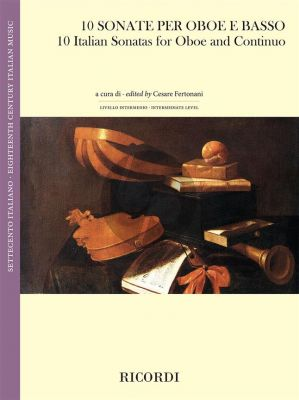 10 Italian Sonatas Oboe and Continuo (edited by Cesare Fertonani)