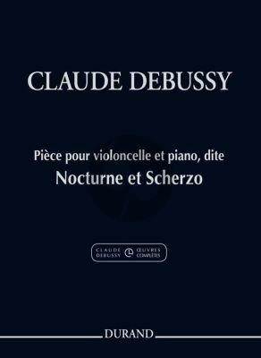 Debussy Nocturne et Scherzo Violoncelle et Piano
