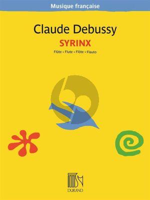 Debussy Syrinx Flute solo (Edmond Lemaitre)