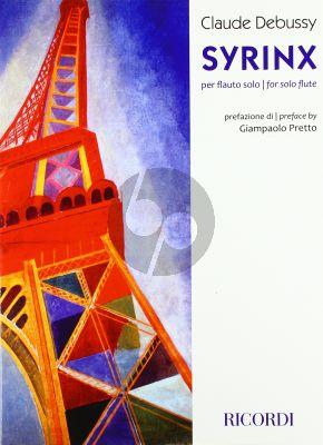 Debussy Syrinx Flute solo (Giampaolo Pretto)