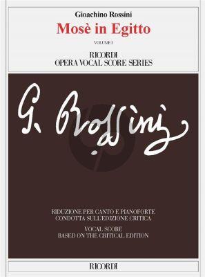 Rossini Mosè in Egitto Vocal Score (2 vols) (it.)