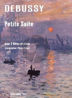 Debussy Petite Suite 2 Flutes - Piano (transcr. Pascal Proust)