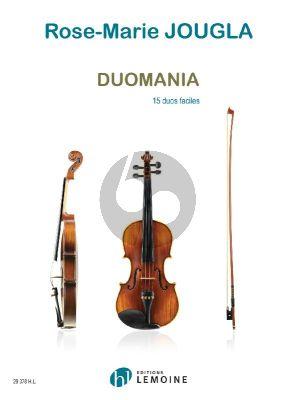 Jougla Duomania (15 Duos Faciles) 2 Violons