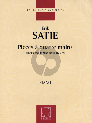 Satie Pieces A Quatre Mains