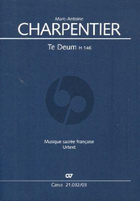 Charpentier Te Deum H 146 Soli-Chor-Orchester Klavierauszug (Hans Ryschawy)