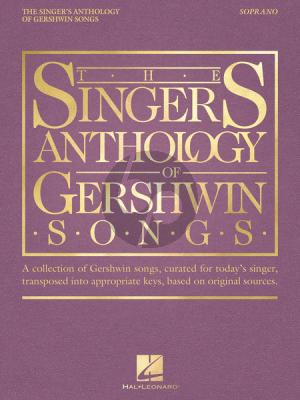 The Singer's Anthology of Gershwin Songs – Soprano
