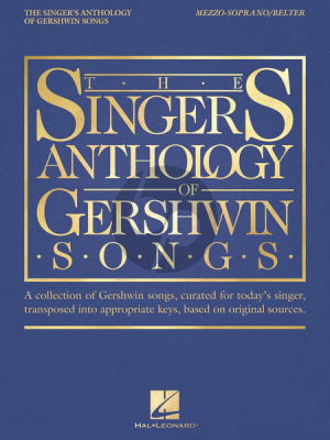 Gerhswin The Singer's Anthology of Gershwin Songs - Mezzo-Soprano/Belter