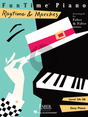 Faber FunTime Piano Ragtime & Marches Level 3A-3B