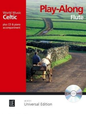 Celtic – Play Along for Flute with CD or Piano accompaniment (Bk-Cd) (edited by Martin Tourish)