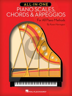 Harrington All-in-One Piano Scales, Chords & Arpeggios