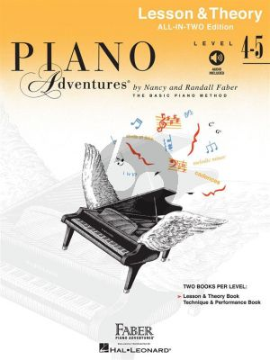 Faber Piano Adventures Lesson & Theory Level 4-5 (Book with Audio online)