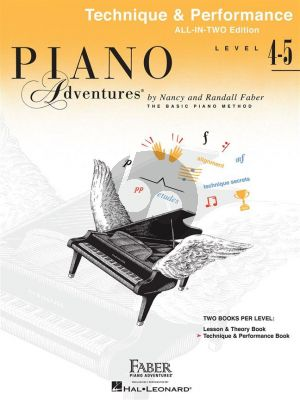 Faber Piano Adventures Technique & Performance Level 4-5