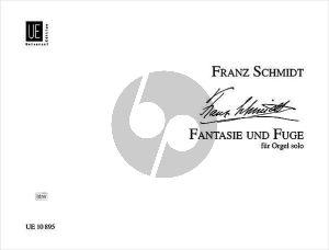 schmidt Fantasie und Fuge für Orgel D-Dur (1923-1924)