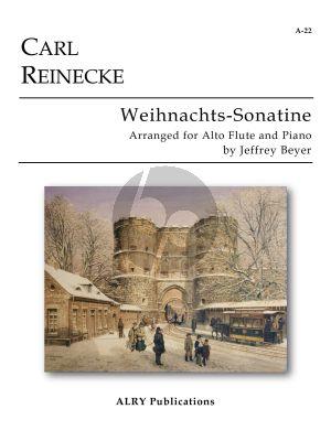 Reinecke Weihnachts Sonatina Op.251 No.3 Alto Flute-Piano (Jeffrey Beyer)