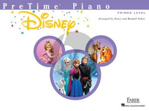 Faber PreTime® Piano Disney Primer Level (Faber Piano Adventures)