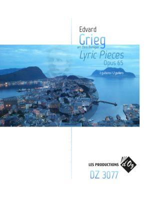 Grieg Lyric Pieces Op.65 2 Guitars (arr. Chris Dumigan)
