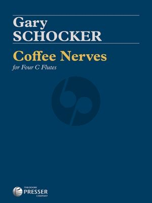 Schocker Coffee Nerves for 4 C Flutes (Score/Parts)