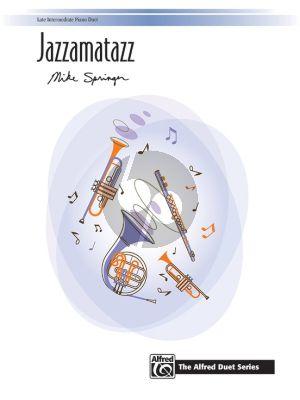 Springer Jazzamatazz Piano 4 hds