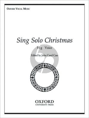 Sing Solo for Christmas High Voice and Piano (or Organ)
