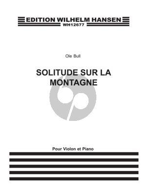 Olle Bull The Herd Girl's Sunday (Svendsen) (Violin-Piano)