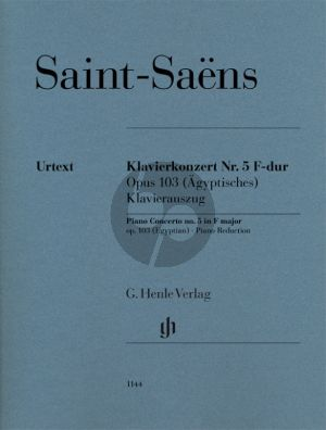 Saint-Saens Piano Concerto no.5 F major op.103 (Piano Red.) (Egyptian)